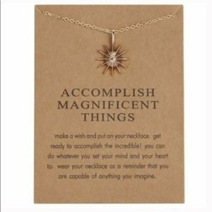 Dainty Necklace - ACCOMPLISH MAGNIFICENT THINGS